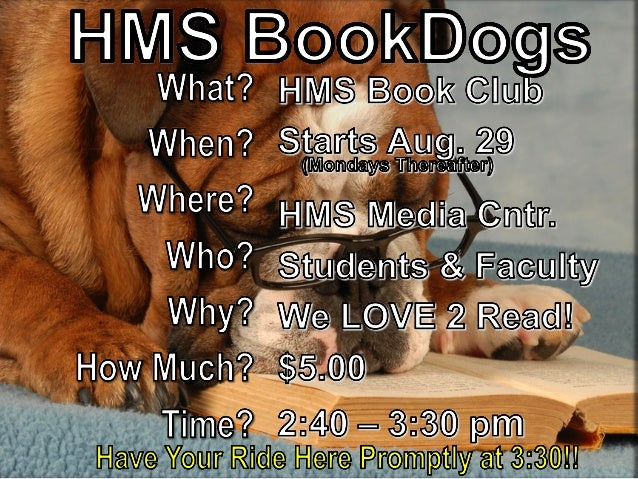 Book dogs morning show annoucement