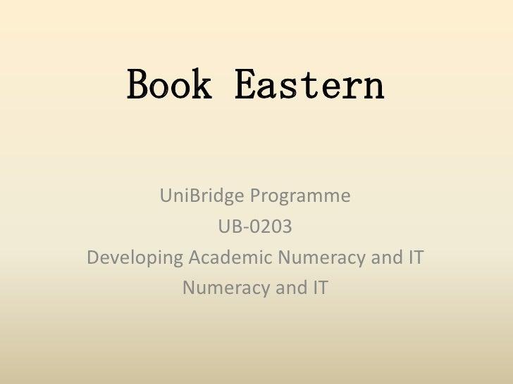 Book eastern