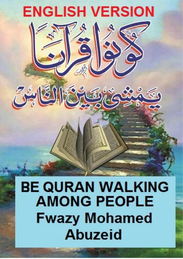 ما الحكمة من إنزال الله للأديان ؟ Book-english-be-quran-walking-among-people-1-638