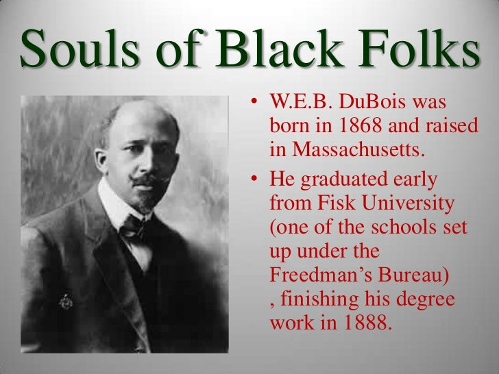 a discussion of dubois views on the freedmens bureau