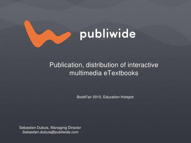 Interactive eTextbook_presentation