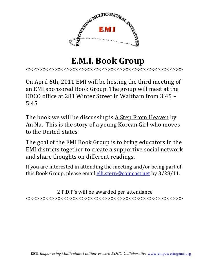E.M.I. Book Group        <>:<>:<>:<>:<>:<>:<>:<>:<>:<>:<>:<>:<>:<>:<>:<>:<>...