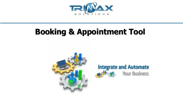Booking & appointment tool