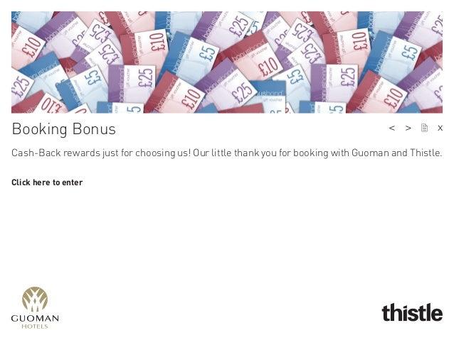 Cash-Back rewards just for choosing us!