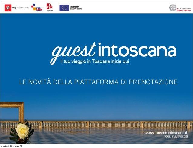 IBT 2013 - I nuovi servizi di Booking e Card by Francesco Tapinassi