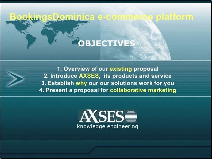 BookingsDominica presentation