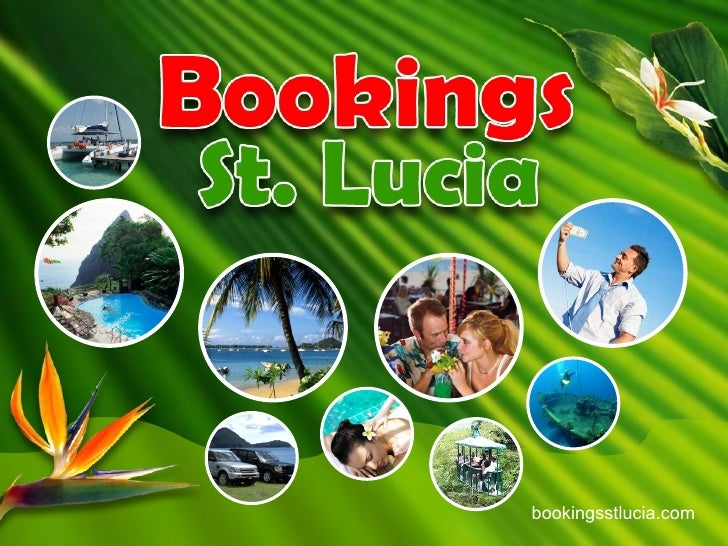 BookingStLucia.com:  Tourism Destination marketing