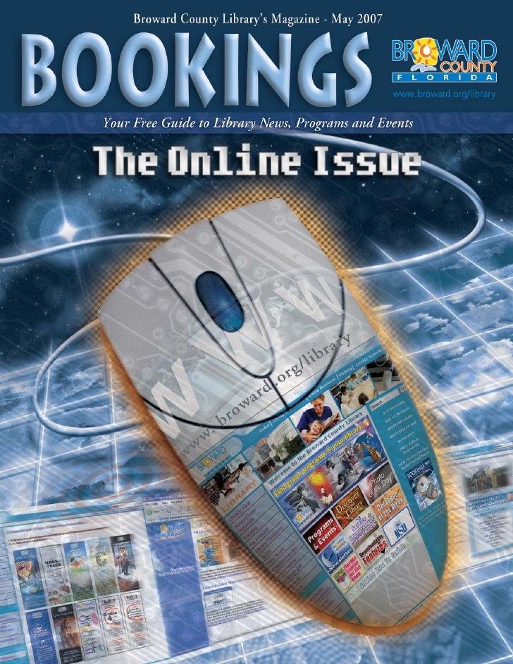 Bookings - May 2007