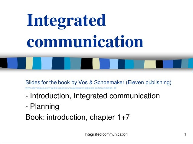 Book integrated communication -slides