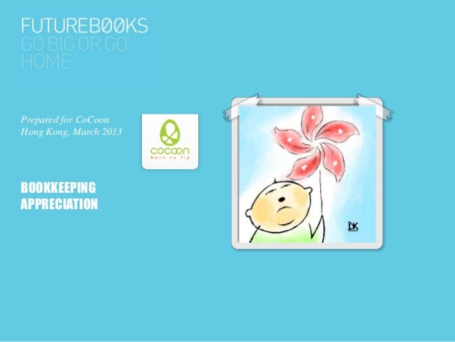 Bookkeeping appreciation with CoCoon Hong Kong