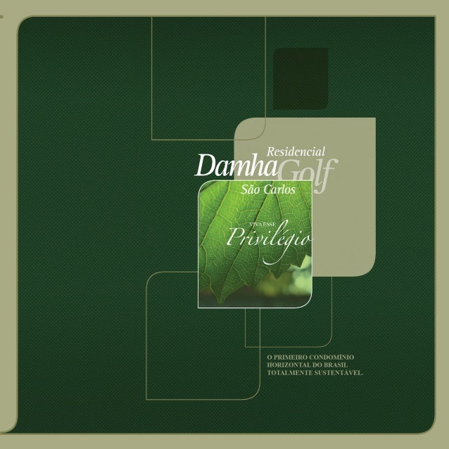 Residencial Damha Golf - Folder