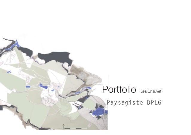 1 Portfolio Léa Chauvet Paysagiste DPLG