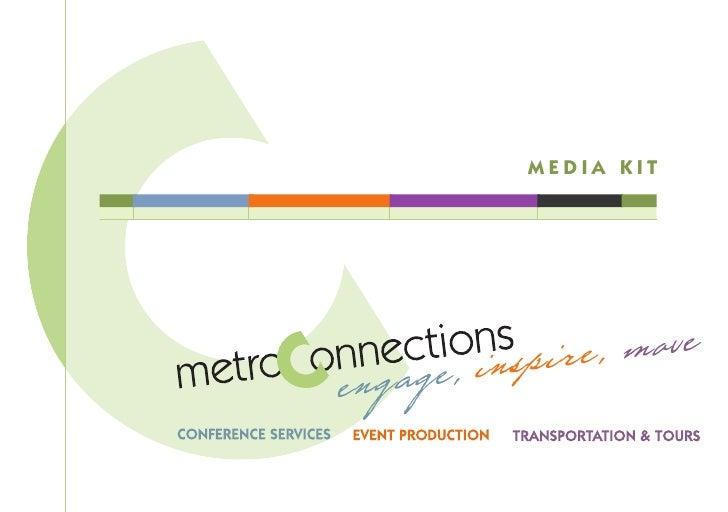 metroConnections' Media Kit