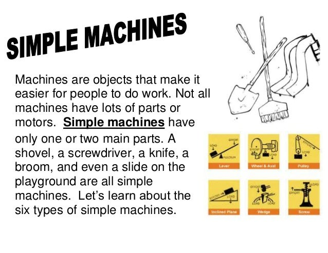how to make a simple machine for grade 5