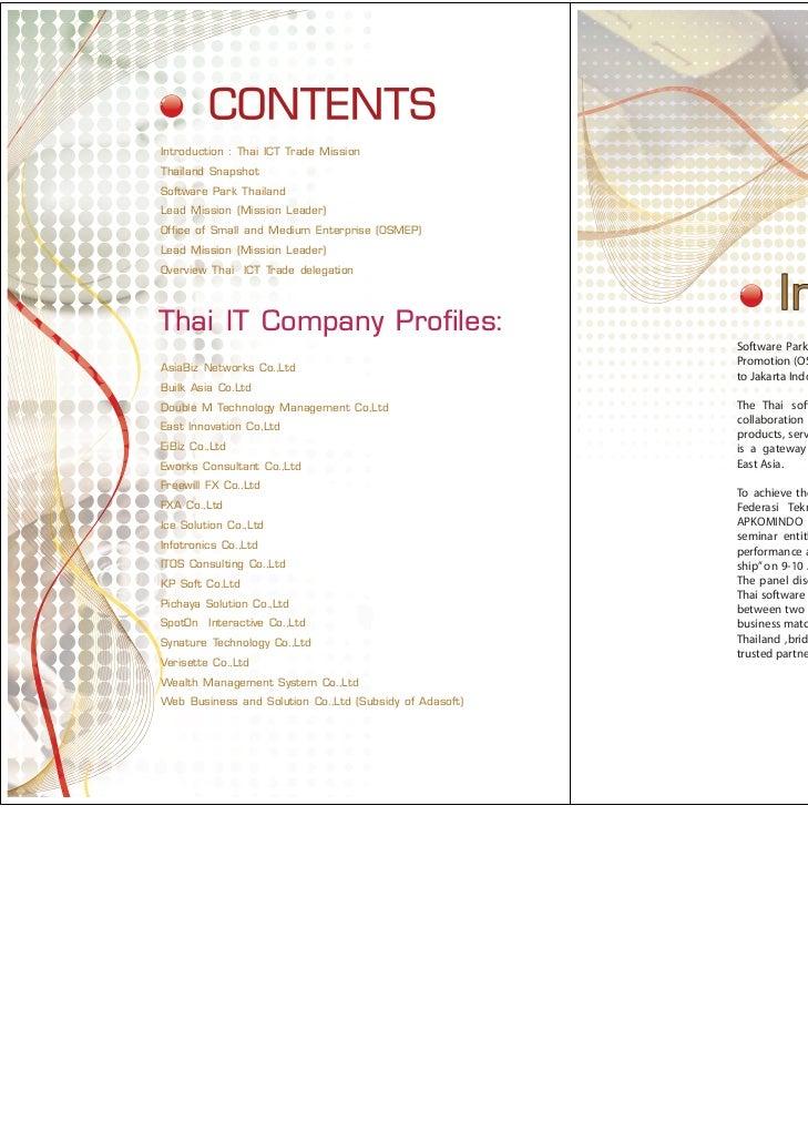 Thai ICT Trade Mission to Indonesia