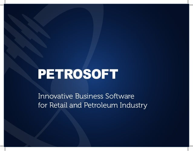 Innovative Business Softwarefor Retail and Petroleum Industry