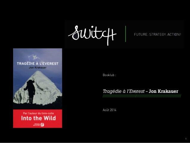 001 I  Booklub :  Tragédie à l'Everest - Jon Krakauer  ////////////////////////////////////////////////////////////////// ...