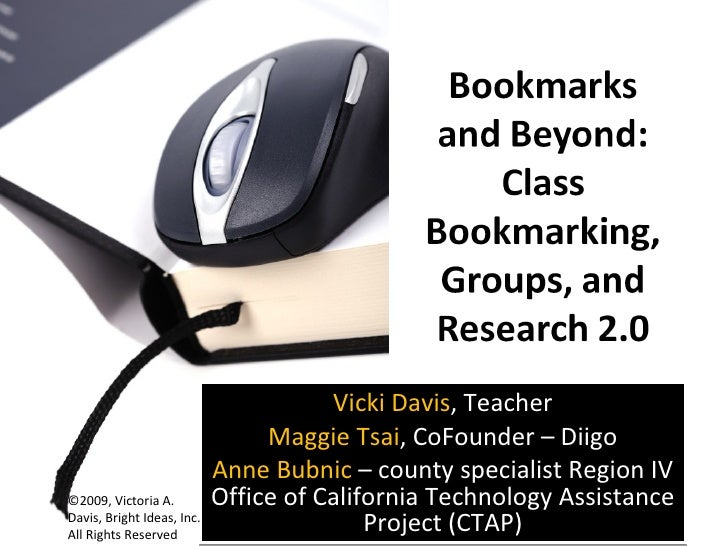 Bookmarks And Beyond