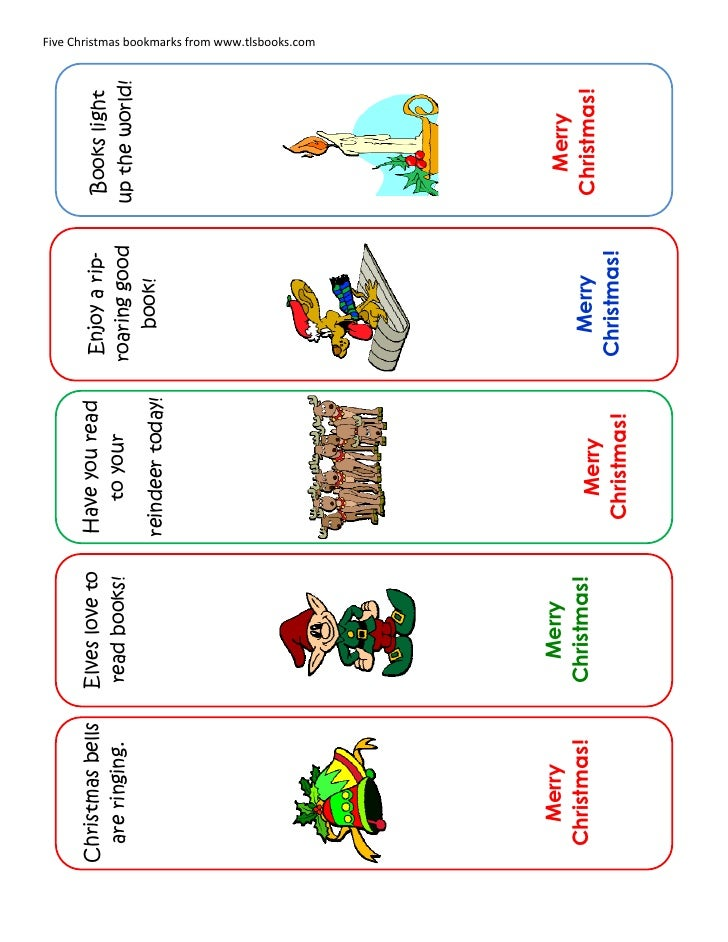 Bookmarks Christmas