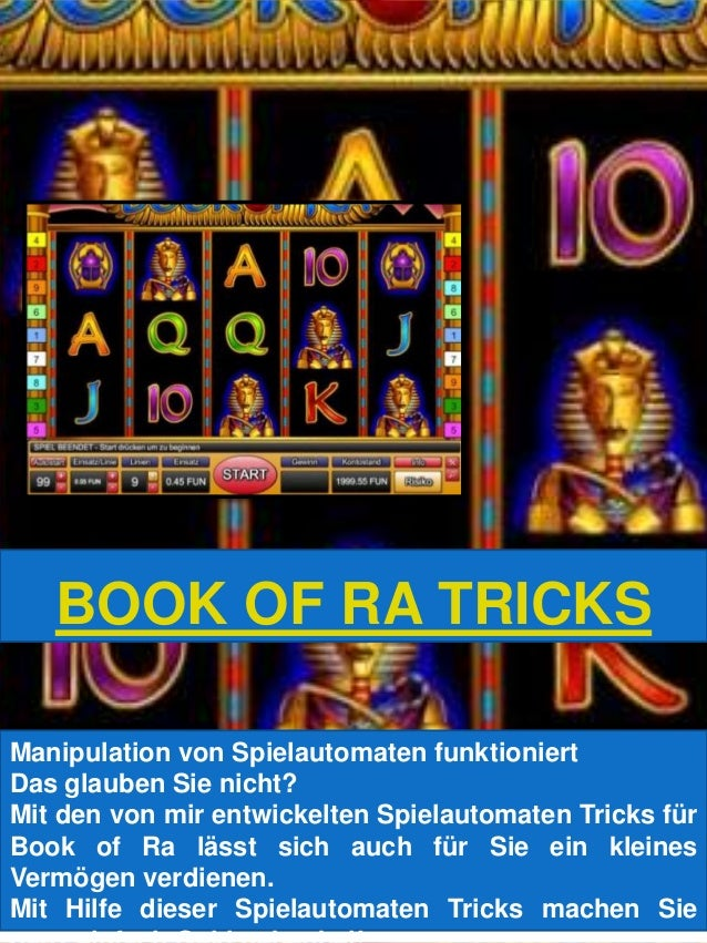 book of ra trick to win