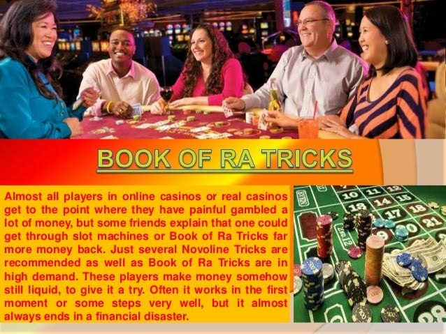 tricks in book of ra