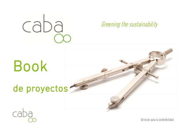 Greening the sustainability  Book  de proyectos  Servicios para la sostenibilidad