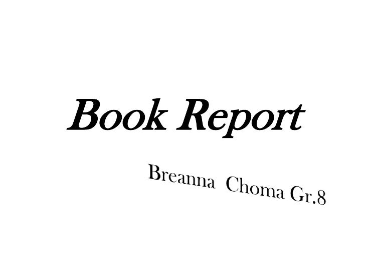 Book report (Anne Of Green Gables)