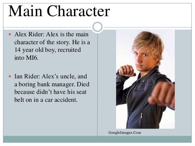 Main characters book report