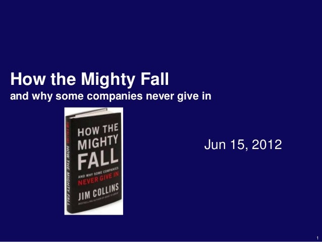 Book review howthemightyfall
