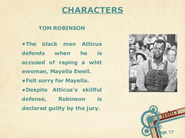 Who is the antagonist in to kill a mockingbird