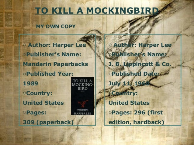 a review of to kill a mockingbird Is to kill a mockingbird racist ryu  the other day i happened to catch to kill a mockingbird on  in his review of watchman for the new york times book review,.