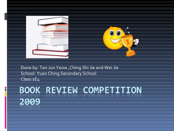 Book Review Competition 2009