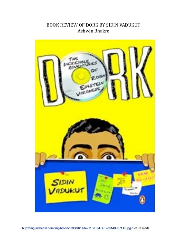 Book review for dork
