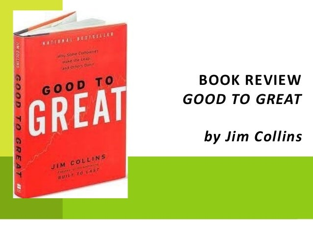 Book Review Good2Great