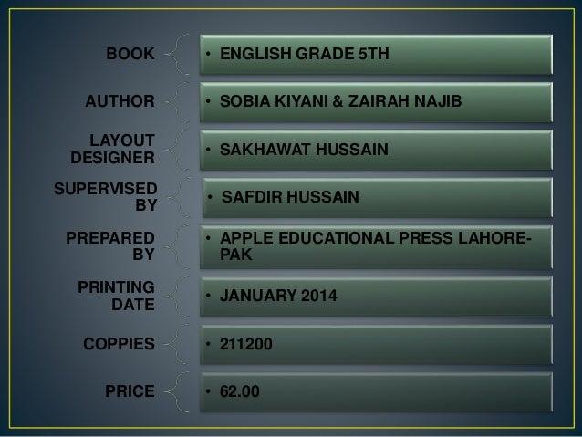 grade 5 english textbook pdf