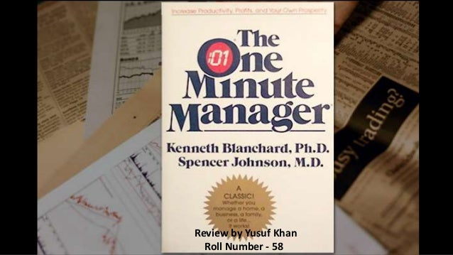 the one minute manager book review This is the story of a one minute manager who was so successful in every way that  the one minute manager balances work and life  enlarge book cover.
