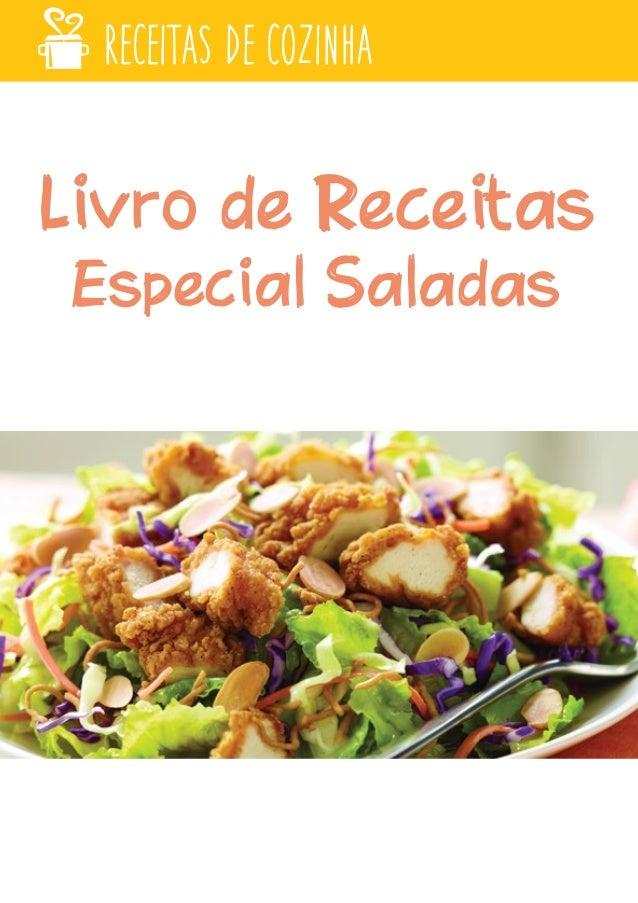 Livro de Receitas Especial Saladas RECEITAS DE COZINHA