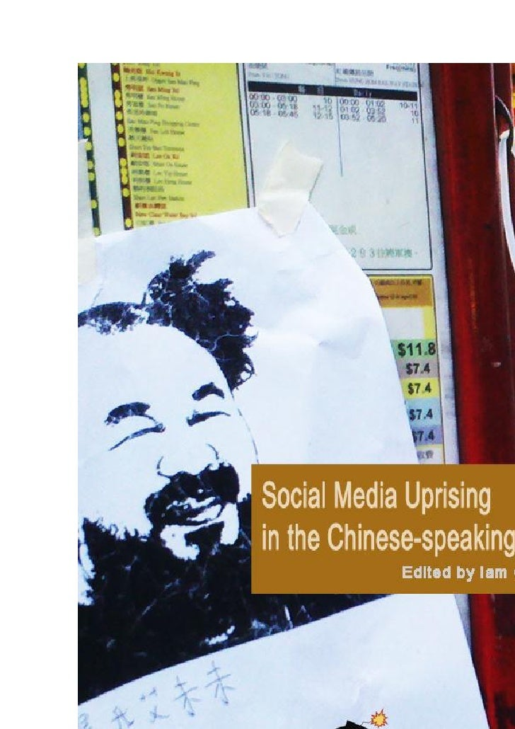 Social Media Uprising in    the Chinese-speaking                                World                                     ...