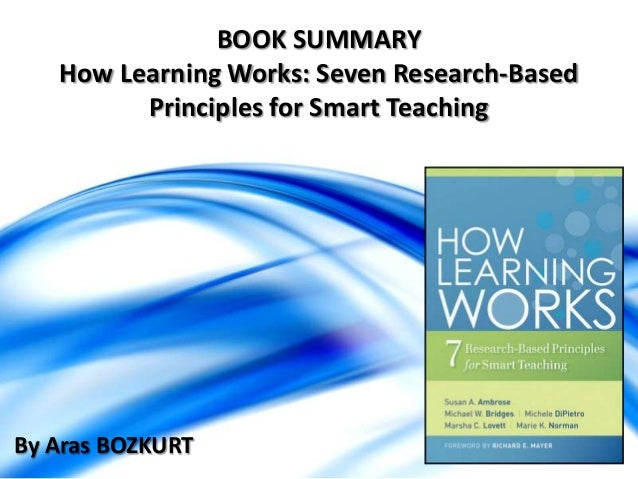 teaching smart people to learn summary This white paper has been created to provide an overview of research and expert   tools, people, and policies that make up 21st century learning  environments  that will support the teaching and learning of 21st  smart, agile schools.