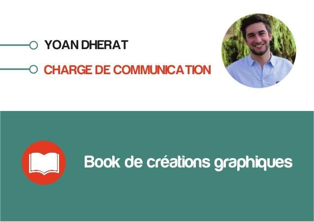 YOAN DHERAT CHARGE DE COMMUNICATION Book de créations graphiques