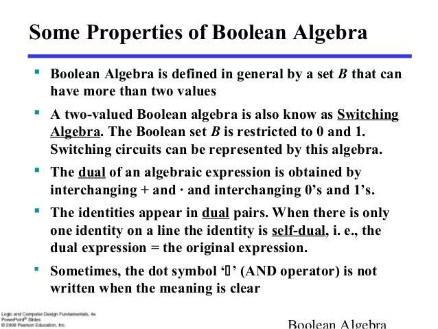 Please help explain Boolean Logic?