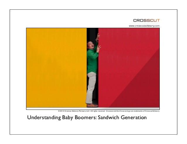 Understanding Baby Boomer Consumers: The Sandwich Generation