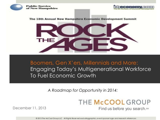 Boomers, Gen Xers, Millennials and More: Engaging Today's Multigenerational Workforce To Fuel Economic Growth