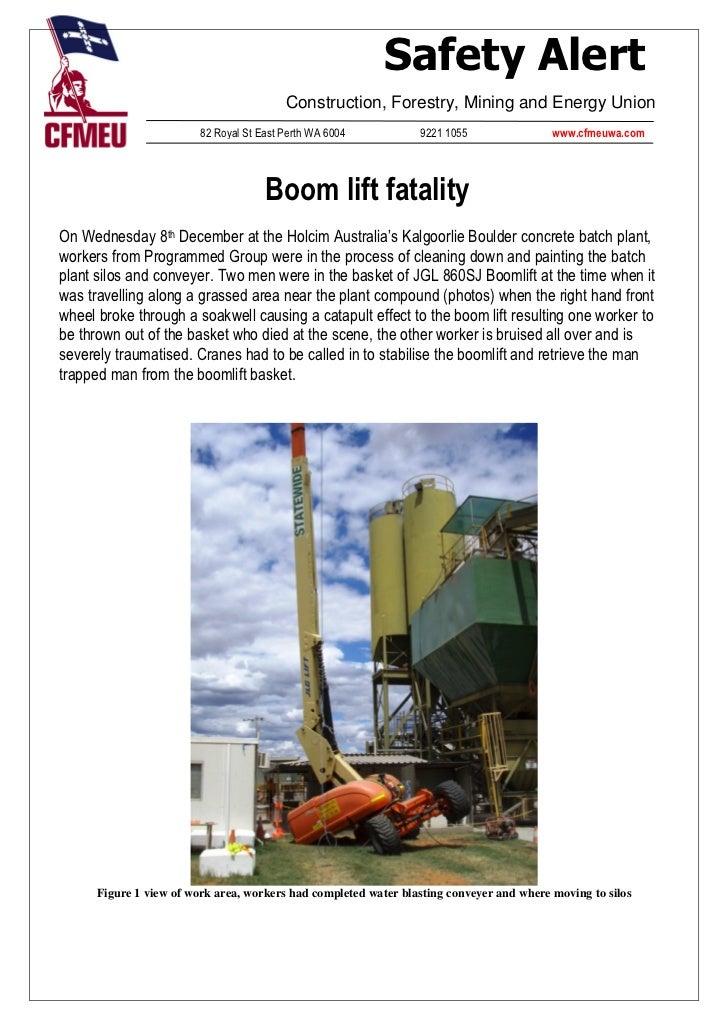 Boomlift Fatality (2)