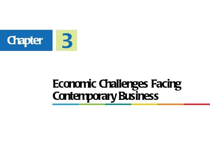 Chapter 3: Economics
