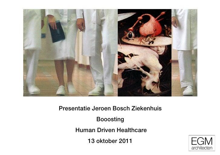 Booosting human drivenhealthcare_egm_13okt11