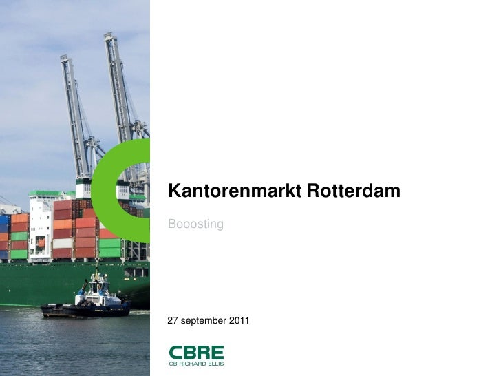 Booosting kantoorvoorraad nl cbre_27sept2011