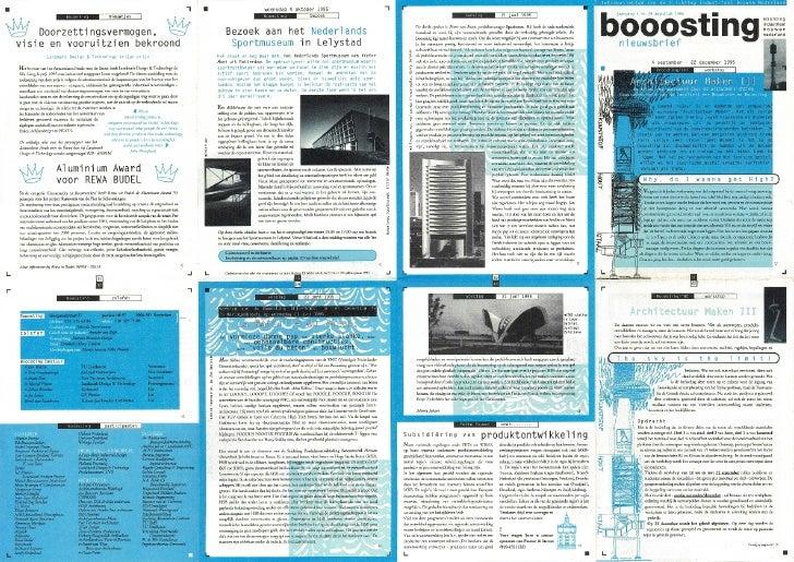 Booosting nieuwsbrief  29 (augustus 1995)