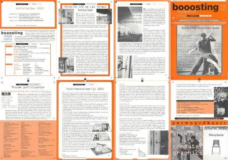 Booosting nieuwsbrief 65 (Jan 2002)