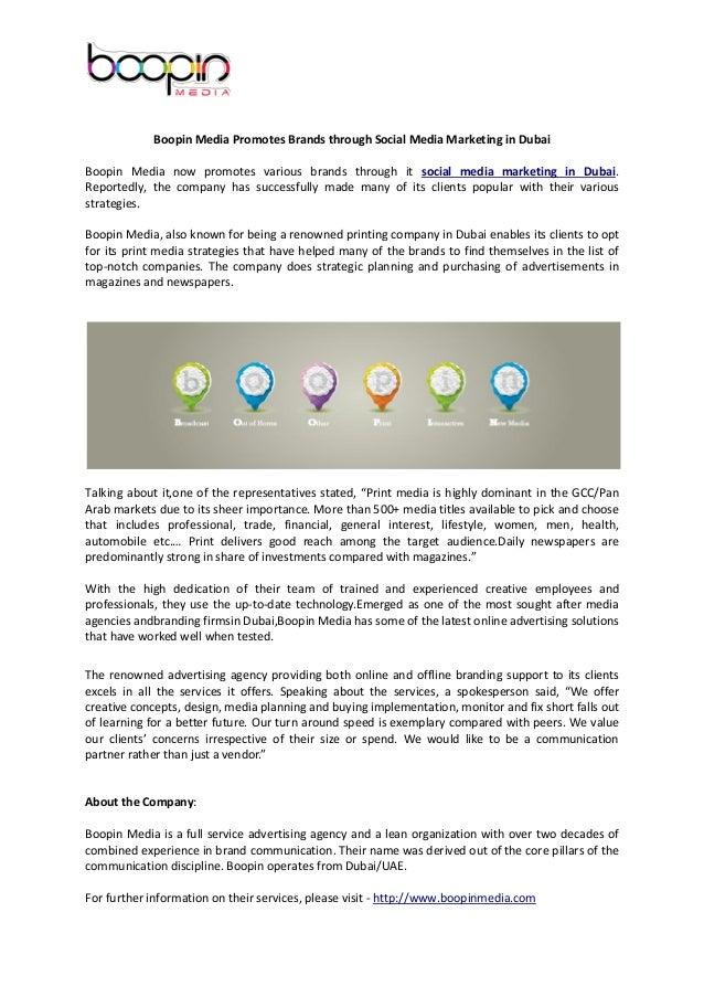 Boopin media promotes_brands_through_social_media_marketing_in_dubai